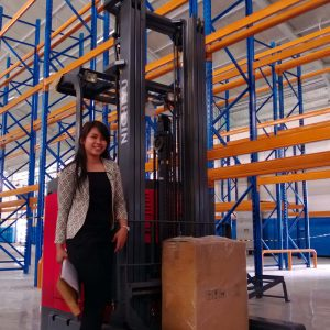 powerful and smart forklift
